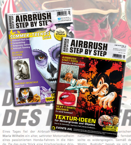 Airbrush Step By Step Magazin